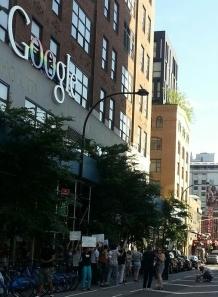 CCC RMA Google Protest 1