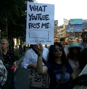 CCC RMA Google Protest 2